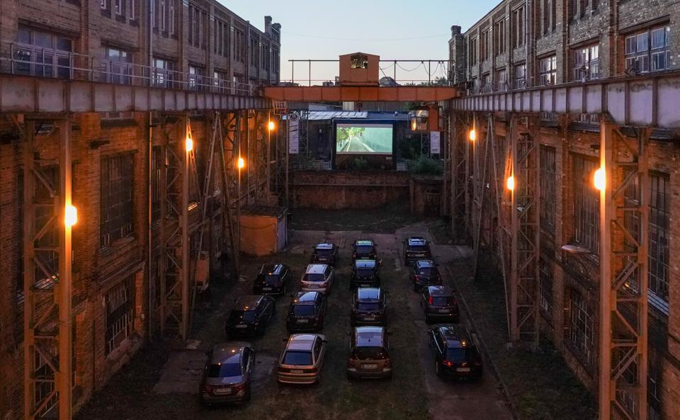 Coronavirus - Location for drive-in cinema