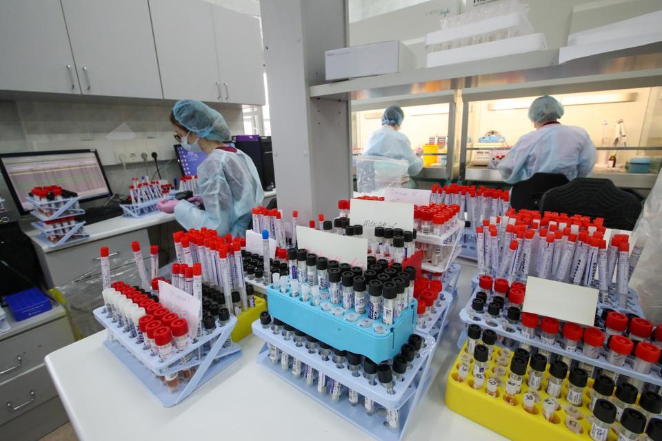 SklifLab of Sklifosovsky Hospital in Moscow amid COVID-19 pandemic