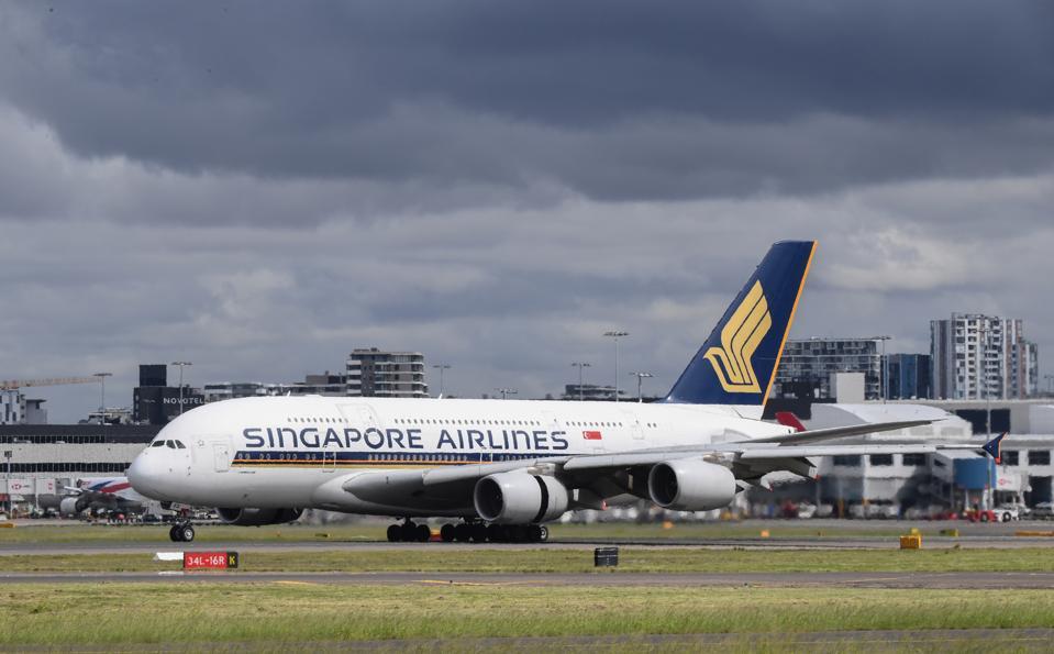 Singapore Airlines at Sydney Airport, Australia