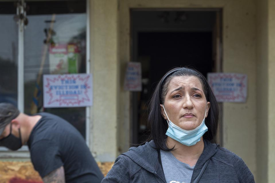Activists Protest Eviction In Los Angeles Amid COVID-19 Pandemic