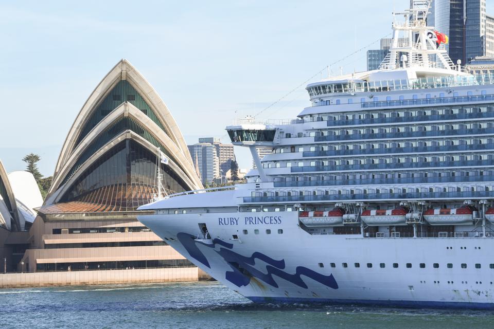 Ruby Princess Cruise ship departs Sydney, Australia coronavirus cases criminal probe