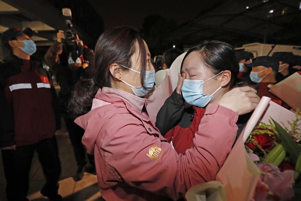 Returned Medical Team Finish 14-day Quarantine