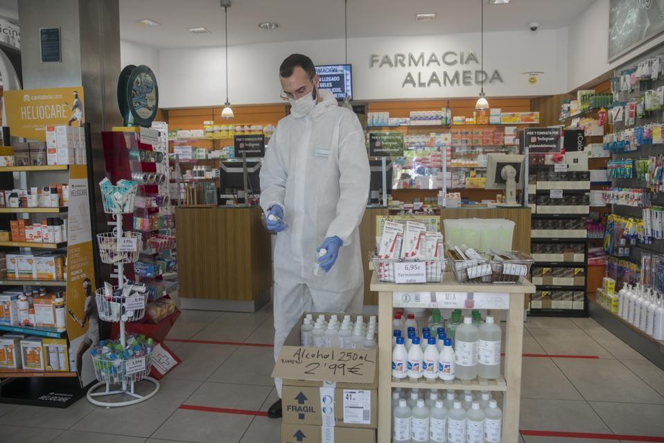 Essential Services Open In Sevilla