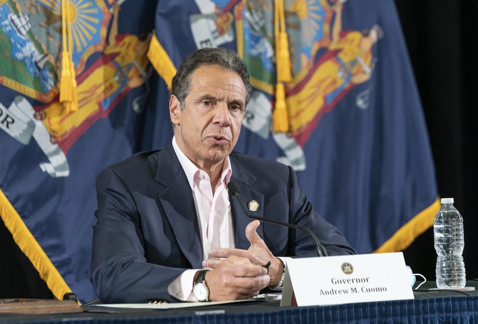Cuomo: New York Coronavirus Deaths Fall To Lowest Level Yet