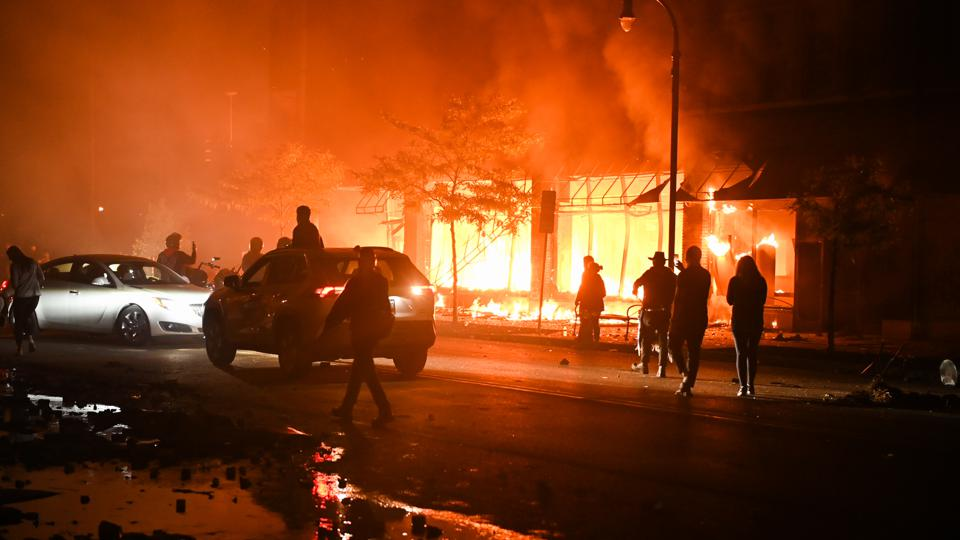 Minneapolis Is Rocked After Another Night Of Protests And Fires
