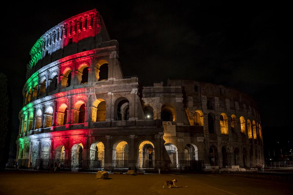 Coliseum Reopening In Rome