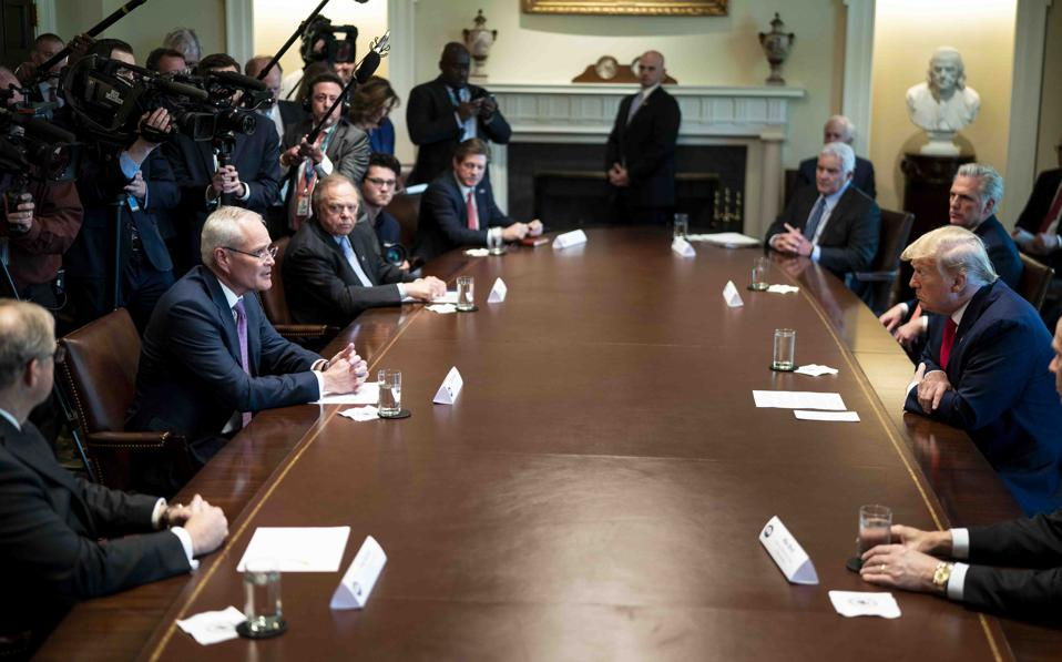 President Trump Meets With Oil Executives At the White House