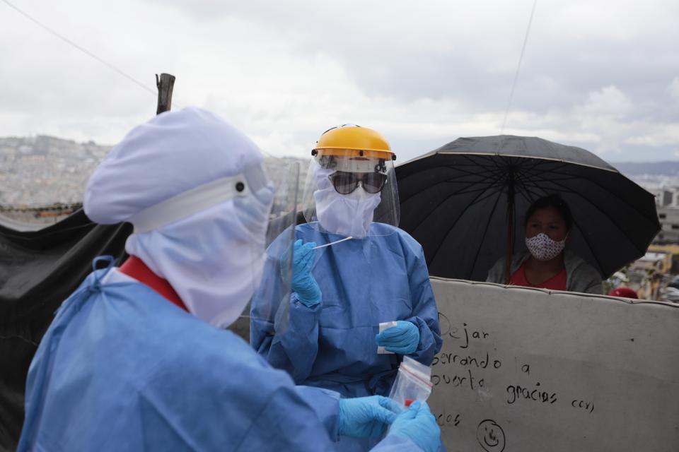 Coronavirus Outbreak in Ecuador