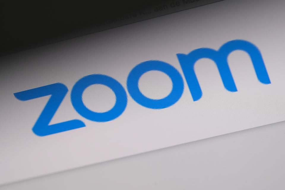 The Zoom videoconferencing logo