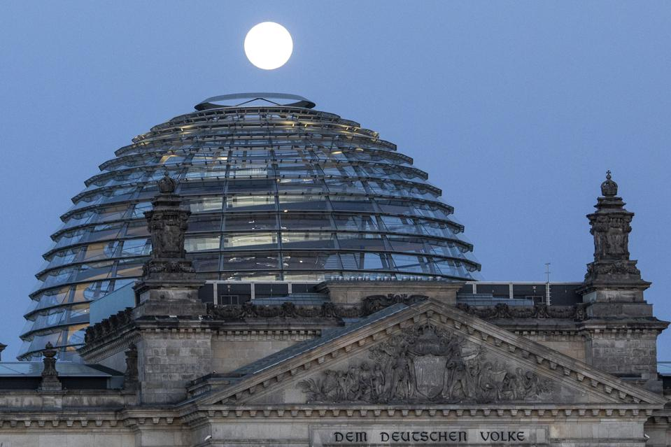 Supermoon Over Germany
