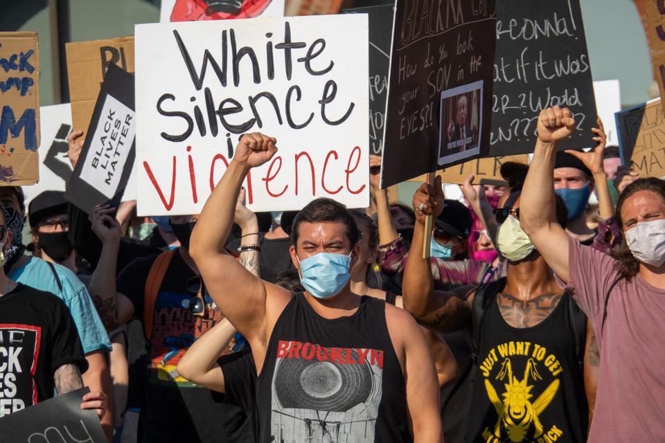 Antifa, George Floyd, protests, image