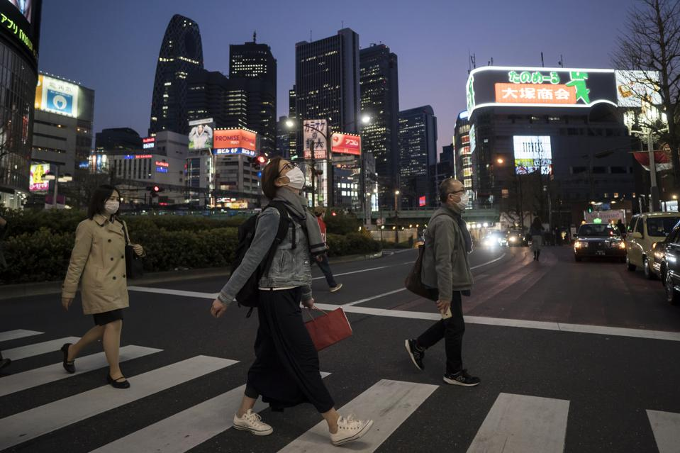 Coronavirus Crisis Mounts In Tokyo As Japan Declares A State Of Emergency