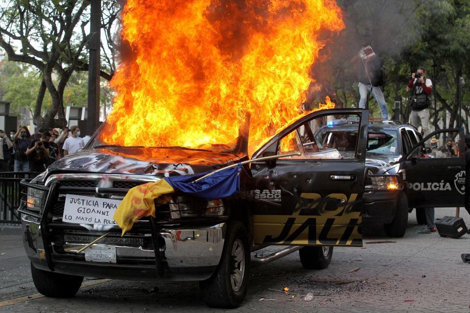 MEXICO-DEATH-PROTEST