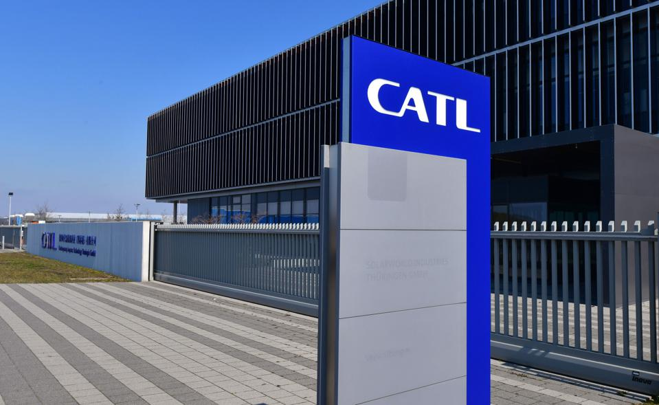China's CATL battery cell specialist has seen its own stock jump this year.