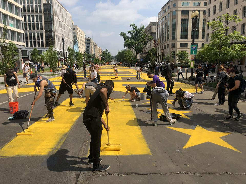 DC renames part of 16th Street Black Lives Matter Way