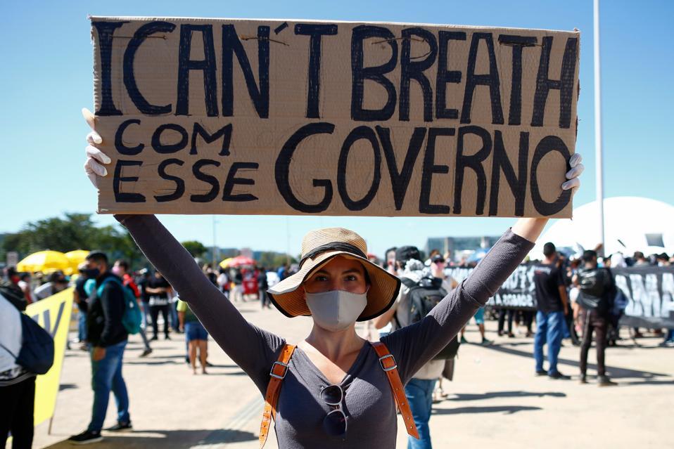 BRAZIL-POLITICS-RACISM-PROTEST