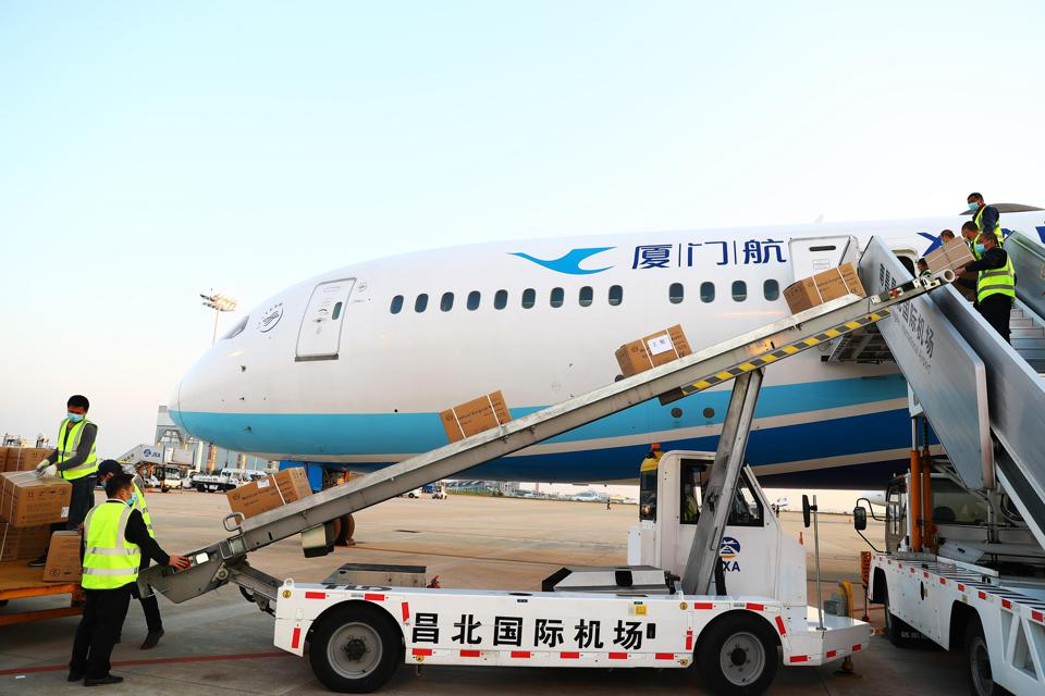 International Air Cargo Services Amid Pandemic In Jiangxi
