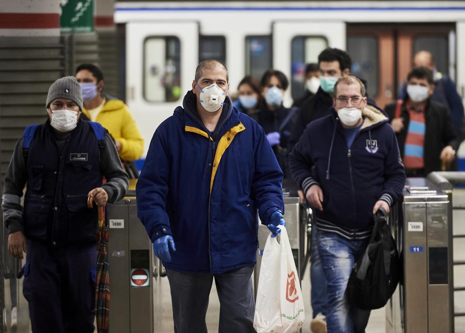 Spain Remains In Lockdown As Coronavirus Infection Rate Slows