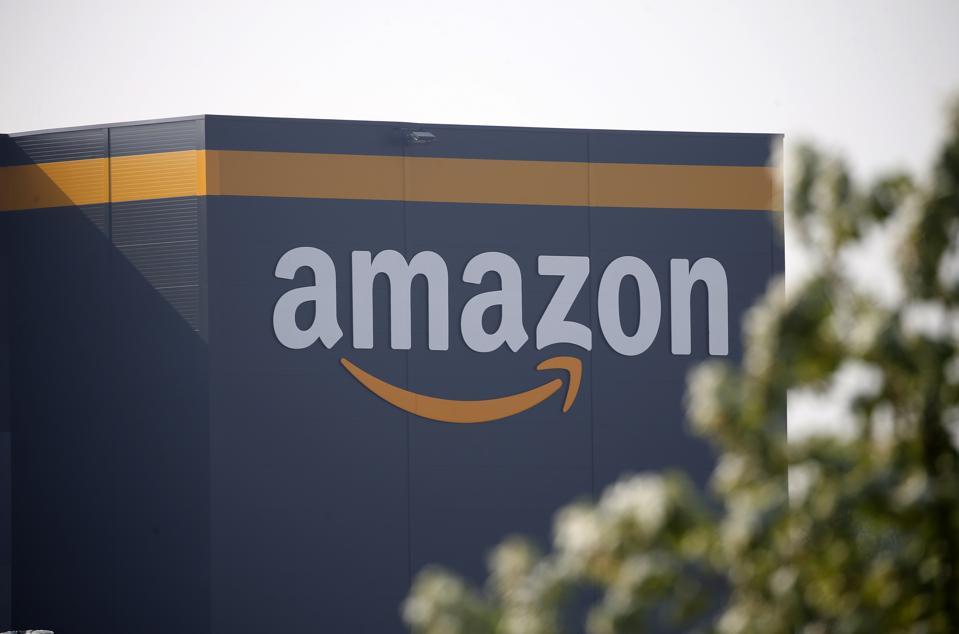 An Amazon warehouse in France