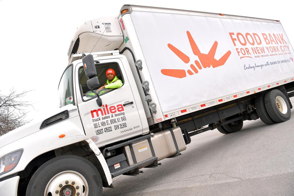 CONVOY Food Bank Trucking COVID-19
