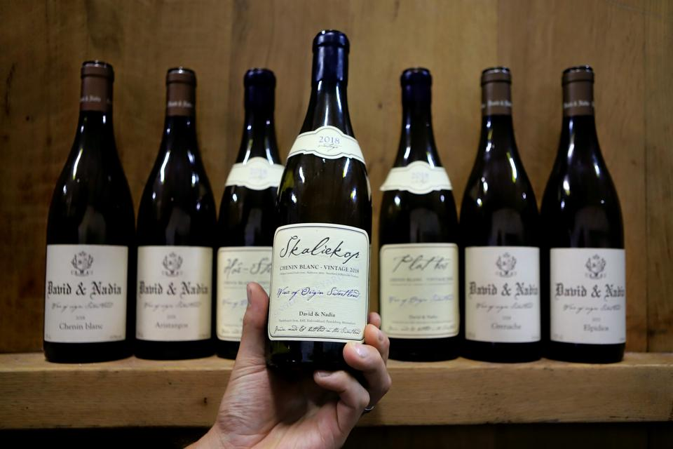 South African Wineries Bring In The Harvest