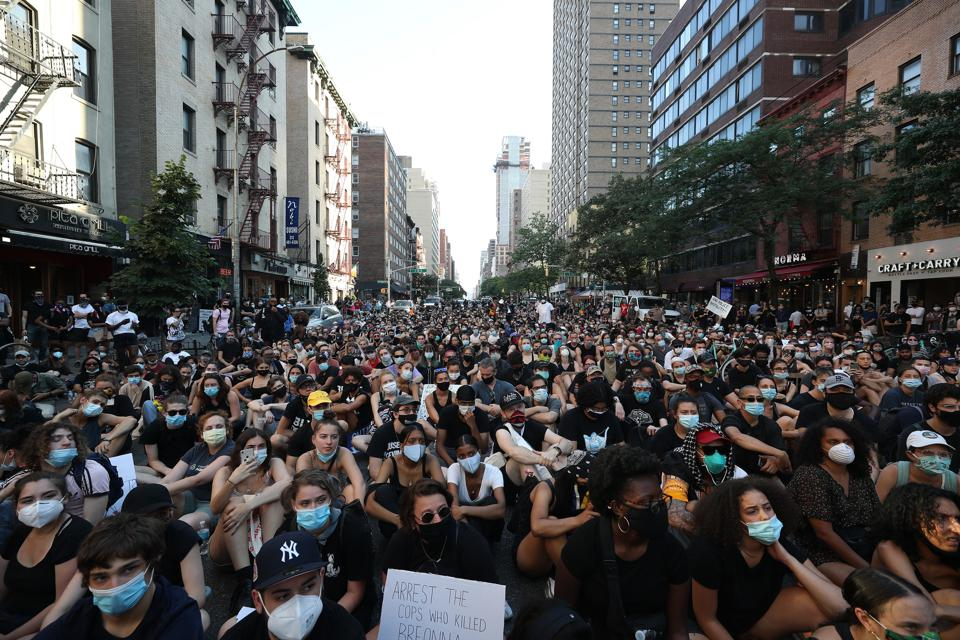 Floyd protests continue on the 15th day in New York
