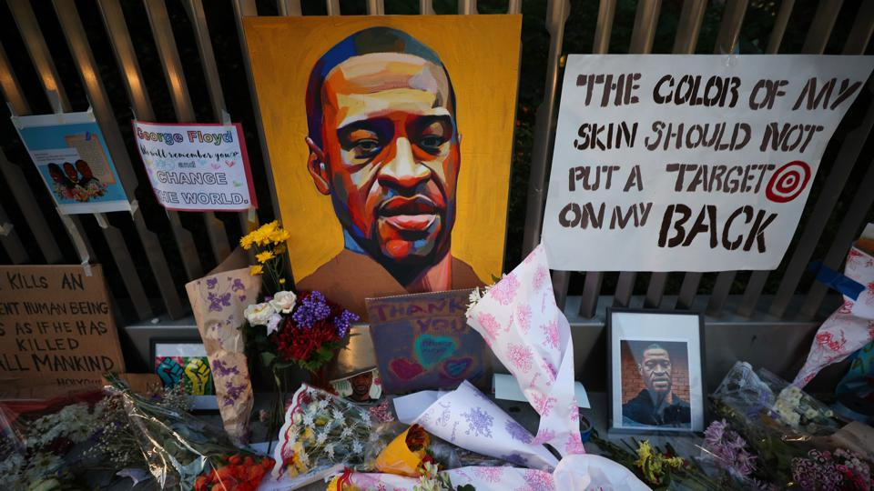 Harlem pays tribute to George Floyd