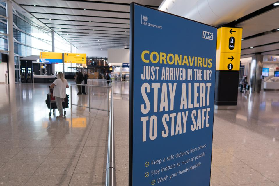 BRITAIN-LONDON-COVID-19-NEW ARRIVALS-QUARANTINE