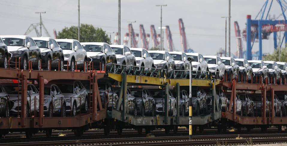 Motor vehicles, the fourth-ranked U.S. export two months ago, slipped to No. 14. Vehicle imports, ranked No. 1 annually for five years, slipped to No. 10 in the most recent month.