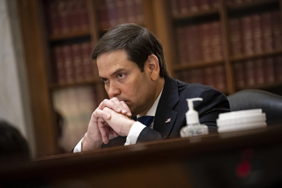 Secretary Mnuchin Testifies In Senate Hearing On CARES Act Implementation