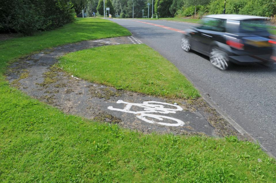 Is This The World's Most Pointless Cycle Lane?