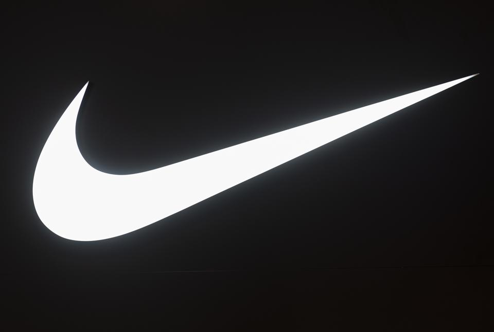 American multinational sport clothing brand Nike logo