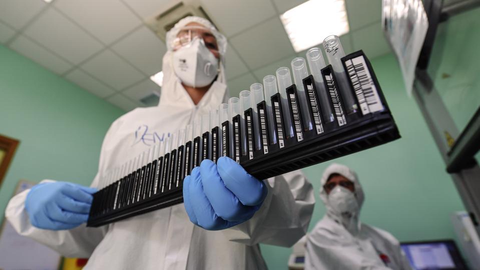 Coronavirus Testing Lab in Naples