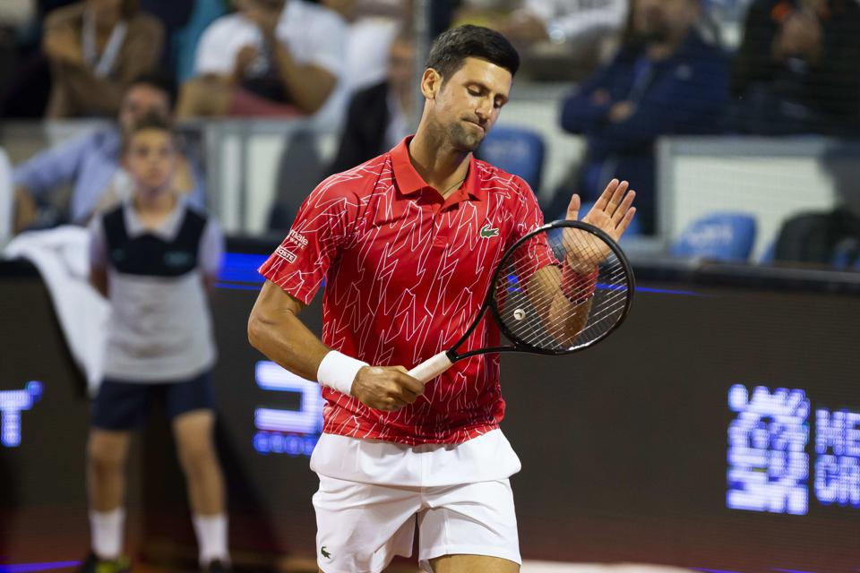 Tennis No 1 Novak Djokovic Who Is Opposed To A Coronavirus Vaccine Tests Positive For Virus After Widely Criticized Exhibition Tournament