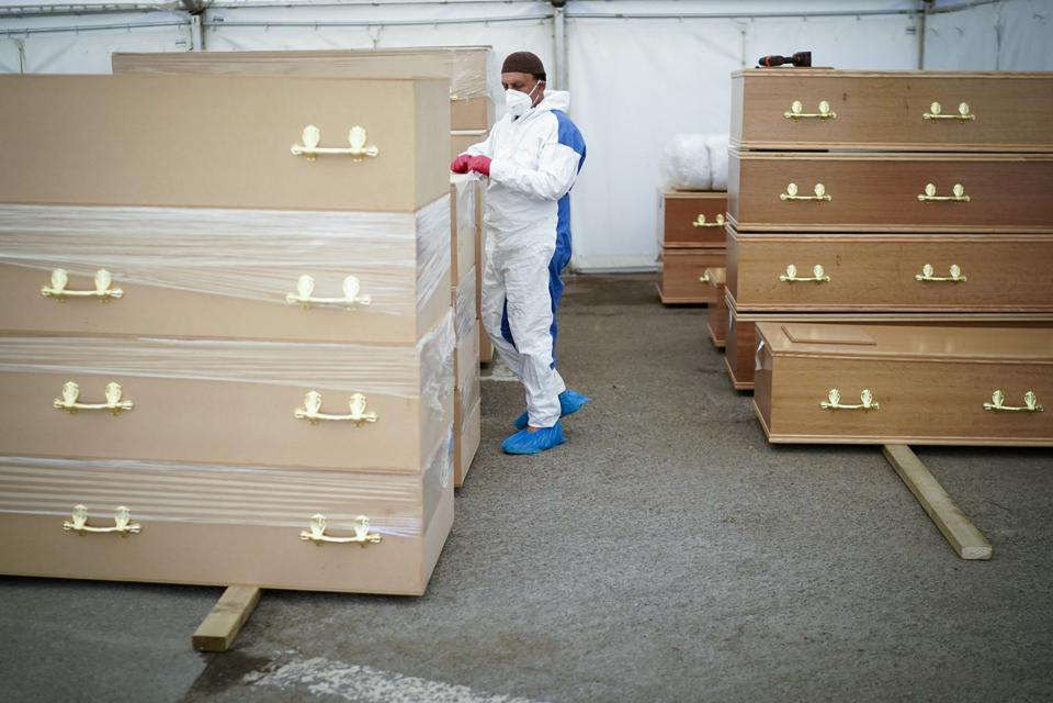 Birmingham Mosque Erects Temporary Mortuary During Coronavirus Pandemic