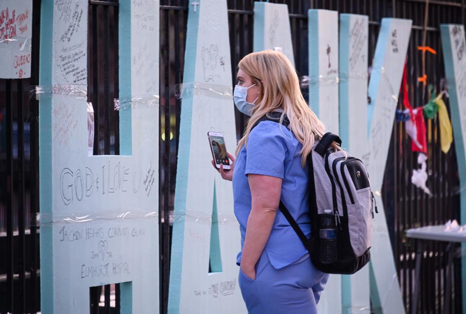 New York City Continues To Idle During Coronavirus Shutdown