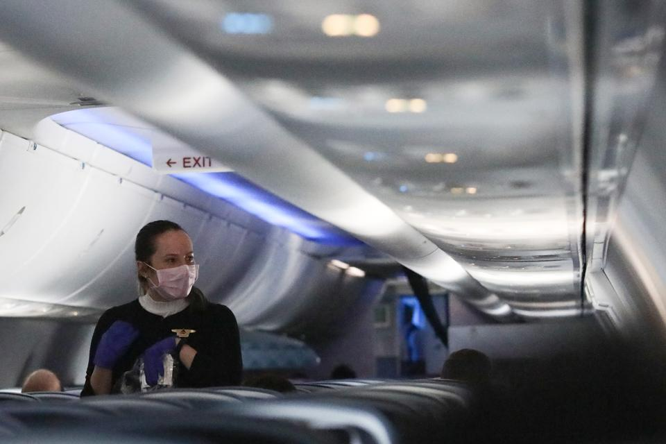 Airline Industry Devastated By Coronavirus Pandemic, As Americans Urged To Shelter At Home