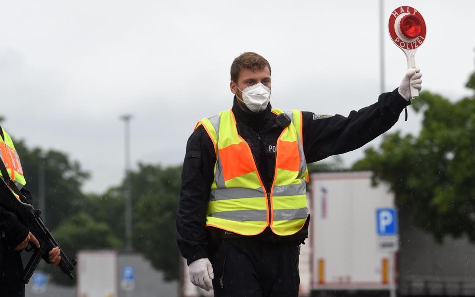 GERMANY-BORDER-POLICE-EU-Austria-border-Reopen