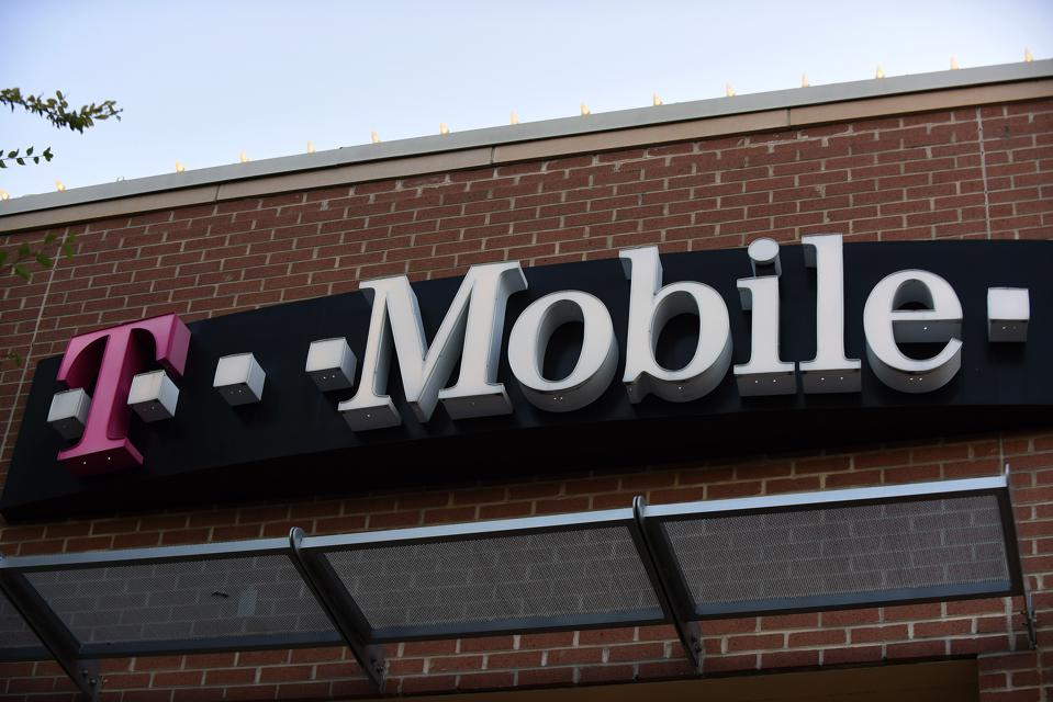 A T-Mobile store is seen in Orlando, Florida as the third...