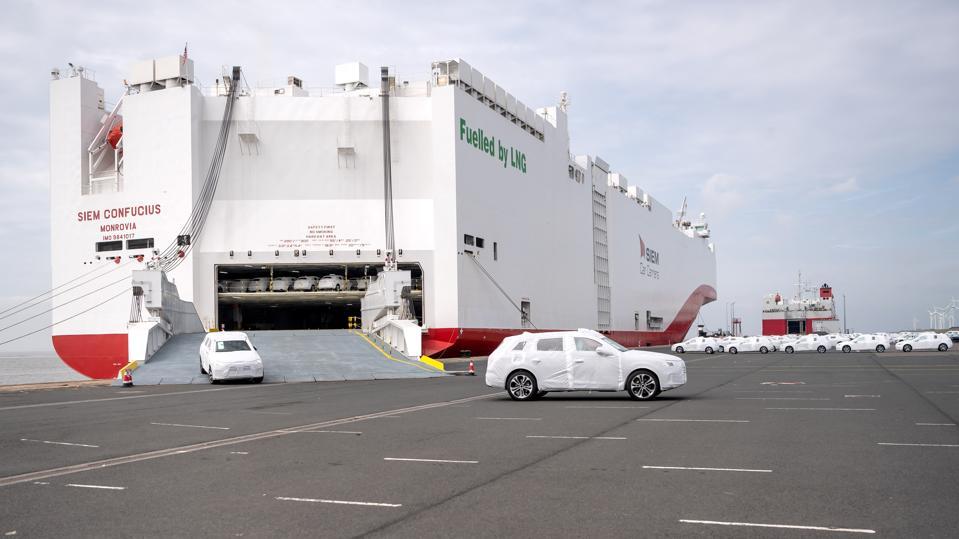 Overseas car carrier ″Siem Confucius″