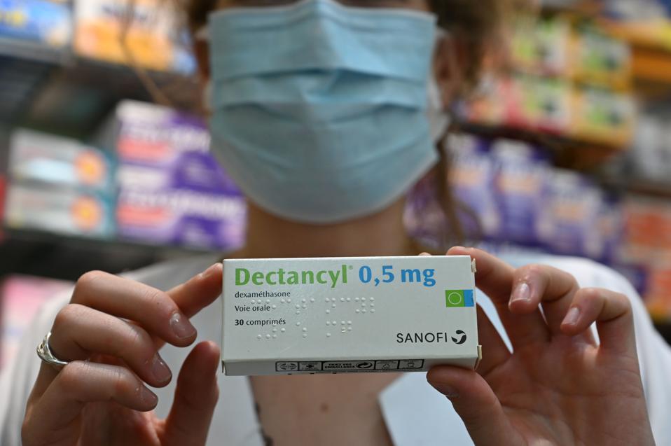 FRANCE-HEALTH-VIRUS-DEXAMETHASONE