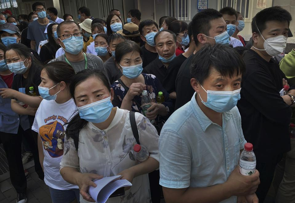 Beijing Moves To Contain Fresh Cases Of COVID-19