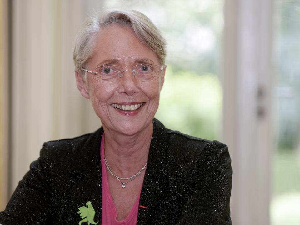 French Minister for Ecological and Inclusive Transition, Elisabeth Borne, answers questions in Paris on June 12, 2020.