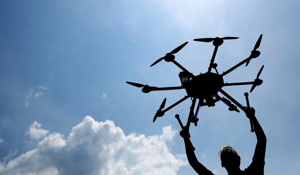 Drone researchers invite to their future test center