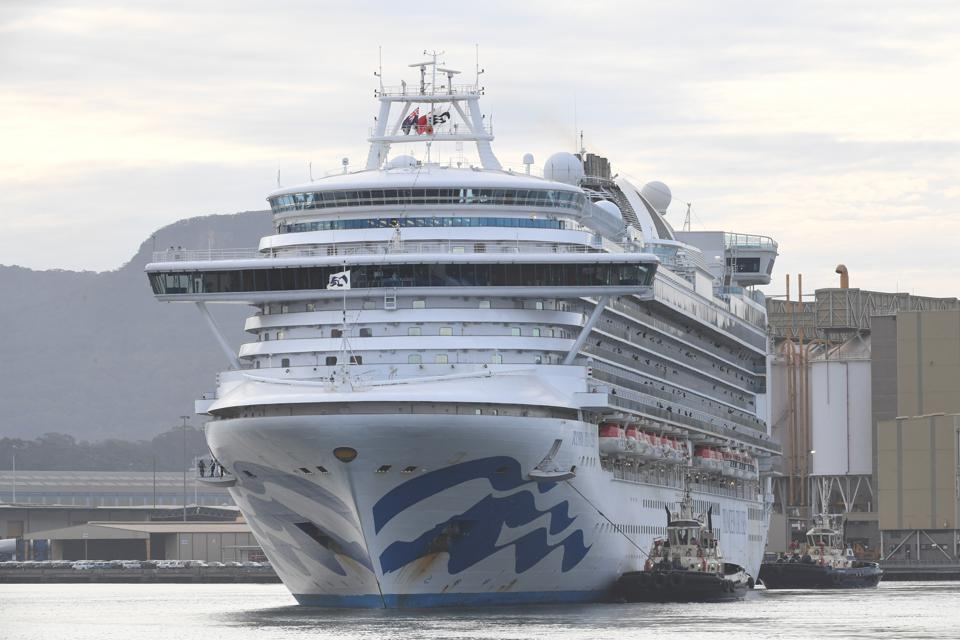 Ruby Princess Set To Depart Australian Waters Following Orders By Border Force