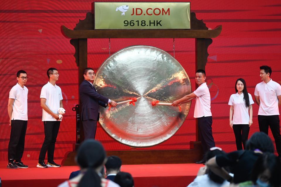 CHINA-HONG KONG-ECOMMERCE-JD.COM-STOCKS