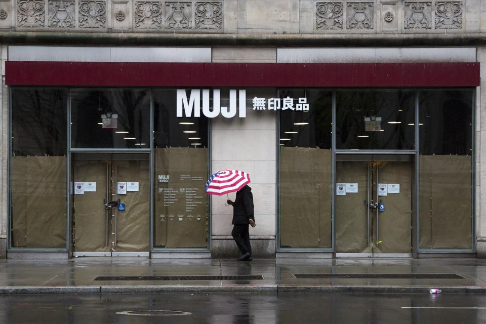 Muji U.S. files for bankruptcy as the latest coronavirus casualty