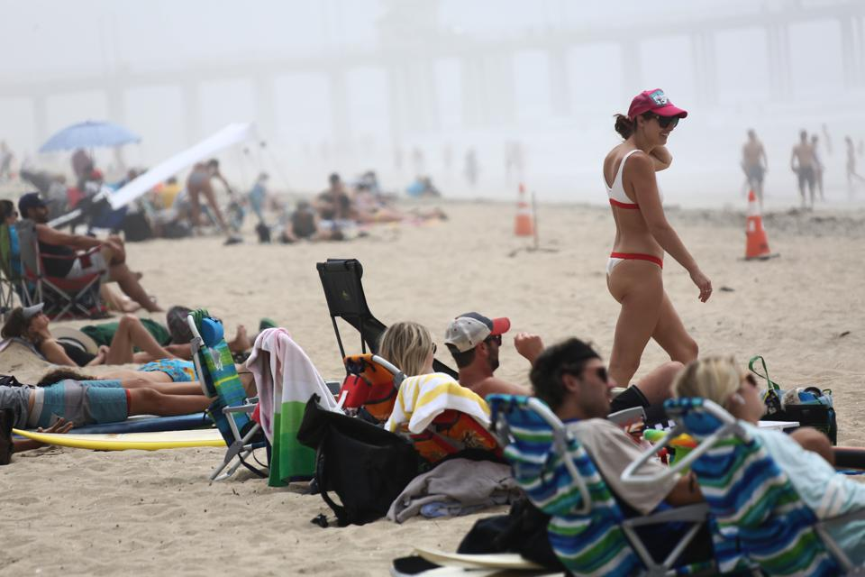 Daily Life In Los Angeles Amid Coronavirus Outbreak