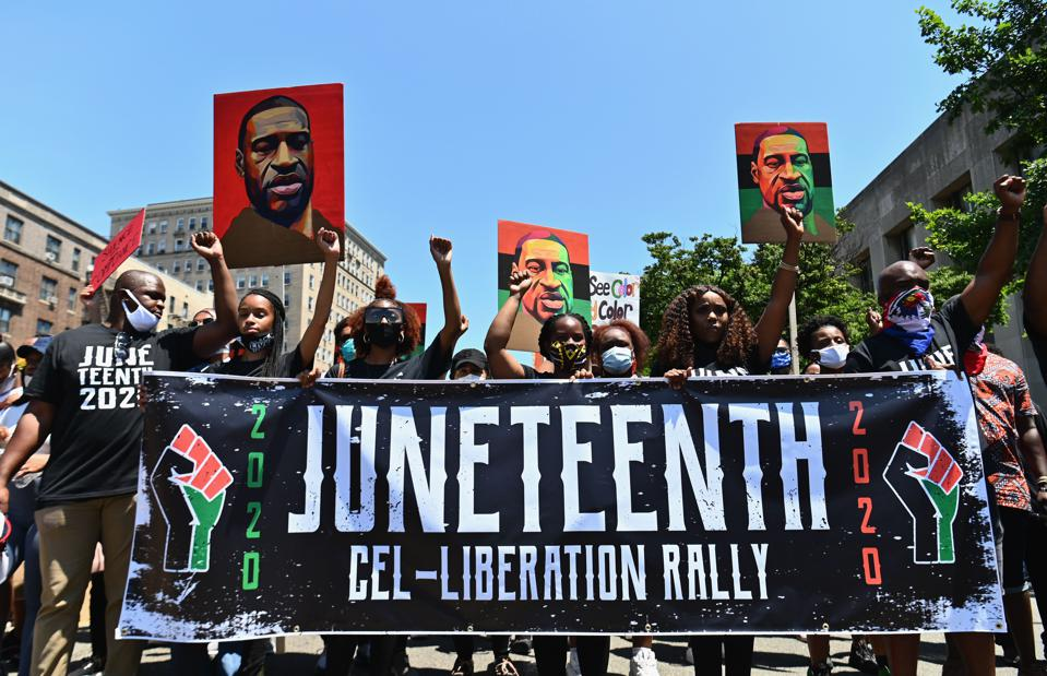 US-POLICITS-RACISM-JUNETEENTH