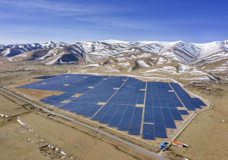 Solar Power Plant In Sichuan